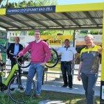 ÖAMTC Fahrrad-Stützpunkt in Bad Zell errichtet.